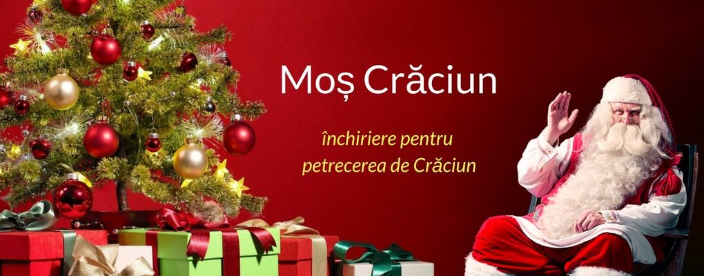 inchiriere Moș Crăciun